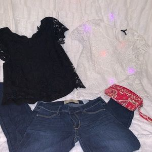 All four pieces for $25 whole outfit for $25